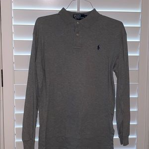EUC Long Sleeve Polo Shirt